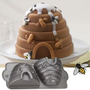 Backform Bienenkorb, Bienenstock Nordic Ware, für Imker BACKFEE Art-Nr NW 08