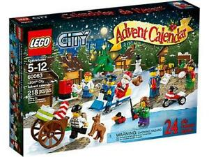 LEGO 60063 LEGO® City Advent Calendar - NEW