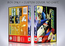 LYLATWARS. PAL VERSION 1. Box/Case. Nintendo 64. BOX + COVER. (NO GAME).