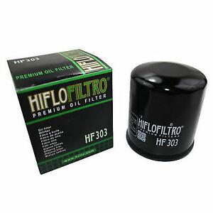 HiFlo HF303 Motorcycle Oil Filter - Kawasaki ZX600 ZX6-R ZZR600 1990-2014 x2