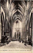 CPA Bayonne -  Intérieur de la Cathédrale - La Grande Nef (162973)