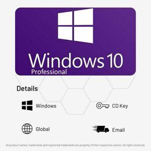 Windows 10 Pro Activation Key (Retail Edition) - Digital CD Key