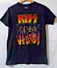 Kiss Band 1976 Destroyer Tour T-Shirt  Premium Cotton Rock Women's Tee Size S