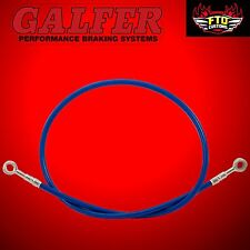 "Brake Line 36"" long Blue for Extended Swingarms or Swingarm Extensions"