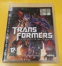 Transformers La Vendetta del Caduto GIOCO PS3 VERSIONE ITALIANA