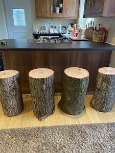 Bar Stool Tree Stump
