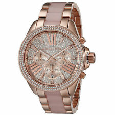 Michael Kors Wren Crystal Chronograph Ladies Watch MK6096
