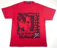 Dale Earnhardt Jr Mens T Shirt Red Coming of Age Budweiser Short Sleeves M