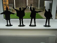 Beatles HELP Figures - set of 4 Beatles from the HELP album cover - unique