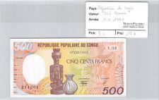 République du CONGO - 500 francs 1.1.1990 - pick 8 C