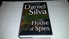 House of Spies by Daniel Silva (2017, Hardcover) SIGNED 1st/1st
