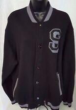 Southpole Men's Black/Gray Snap Front Jacket Size XXL