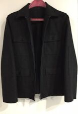 SISLEY Wool Field Jacket Inspired by U.S. Military Field Jacket S Made in Italy