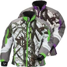 Arctic Cat Women's Team Arctic Camo Winter Snowmobile Jacket - Green or Purple