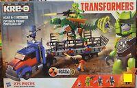 KRE-O Kreo Transformers Optimus Prime Dino Hauler 275 Pcs #A7796