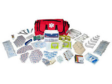 On Call First Aid Responder Paramedic Medical EMT Trauma Kit Fully Stocked, Red