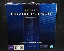 Trivial Pursuit Master Edition Adult 16+ Hasbro Parker Brothers Board Game