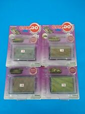 X4 NEW Dragon 1/144 Can.Do Pocket Army Jagdpanther Tanks