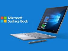 (New) Microsoft Surface Book (i5, 8GB, 256GB, Nvidia dGPU) + Pen + Warranty