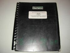 Denharco DH-550 Harvester Operation , Parts & Maintenance Manual - early 1990's