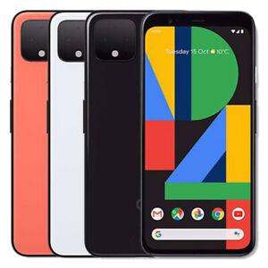 Google Pixel 4 - 64GB 128GB - Unlocked Verizon AT&T Sprint T-Mobile - Smartphone