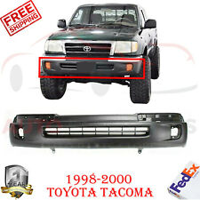 Front Bumper Cover Primed With Fog Light Holes For 1998 2000 Toyota Tacoma 4wd Fits 1998 Tacoma