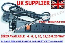 "19 "" 1,5 U Rack Mount 20 modo UK PDU"
