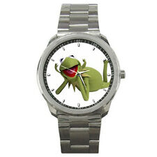 Muppets-Kermit the Frog Stainless Steel Wrist Watch GIFT NEW