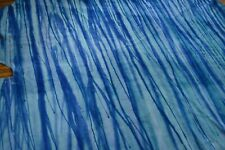 NEW Cowhide Rug Suede Leather striped navy Blue white purple large turquoise XL