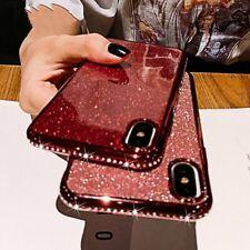 Mobile Case Bling Rhinestone Diamond Glitter Back Skin Cell Phone Soft Cover Hot
