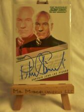 Quotable Star Trek The Next Generation autograph card Patrick Stewart Cpt Picard