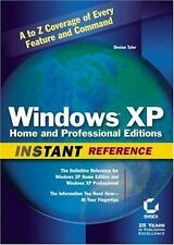 Windows XP Home and Professional Editions Instant Reference-ExLibrary