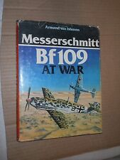 Messerschmitt Bf109 At War by Armand van Ishoven (1977, Hardcover, Illustrated)
