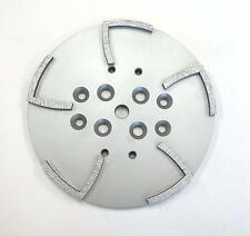 "10"" Pro Concrete Grinding Head Disc Plate for Edco Floor Grinder-10 Segs PREMIUM"