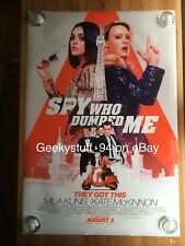 The Spy Who Dumped Me DS Theatrical Movie Poster 27x40
