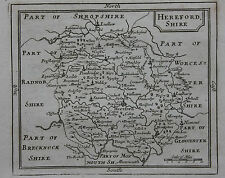Original antique county map of Herefordshire, Seller / Grose c.1790