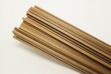 Listelli in legno di noce 5x5mm lunghezza 1m (50pz) modellismo