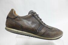 MAGNANNI Cristian Grey Sz 12 M Men Leather Sneakers
