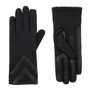 Isotoner Women's smartDRI Chevron Spandex Stretch Touchscreen Gloves - 30003