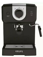 KRUPS XP3208 15-BAR Pump Espresso & Cappuccino Coffee Maker 1.5 Liter, Black NEW