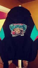 Vintage Vancouver Grizzlies Throwback Puffy Pullover Parka Starter Jacket XL New