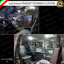 KIT LED INTERNI FORD TRANSIT TOURNEO CUSTOM CONVERSIONE TOTALE 6000K BIANCO