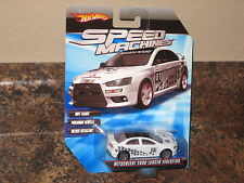 Hot Wheels 2010 Speed Machines Mitsubishi 2008 Lancer Evolution White Variation