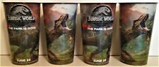 Jurassic World: Fallen Kingdom Movie Theater Exclusive Four 44 oz Plastic Cups