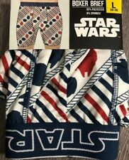 NEW Star Wars Mens Boxer Brief large Or XL Choose Size.