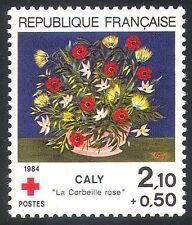 France 1984 Red Cross/Health/Flowers/Welfare/Medical/Plants 1v (n30429)