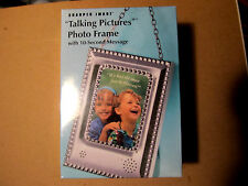 "FREE SHIPPING Sharper Image Small Talking Digital Picture Frame New in Box 2""X3"""