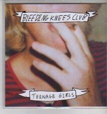 (CX96) Bleeding Knees Club, Teenage Girls - 2011 DJ CD