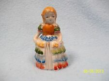 VINTAGE Figurine Occupied Japan Lady with Frilly Dress ~ LQQK here >>