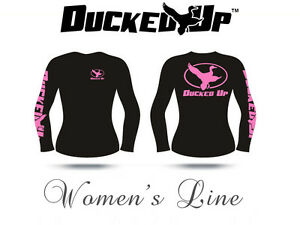 Ducked Up t shirt Apparel,Women's hunting shirt,Duck Hunting ,decoy,call,blind
